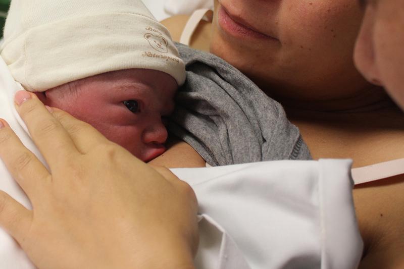 Acompanhamento no parto fisiológico